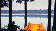 Camping im Duck Mountain Provincial Park, © Travel Manitoba